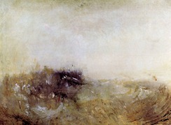 Rough Seas by Joseph Mallord Turner