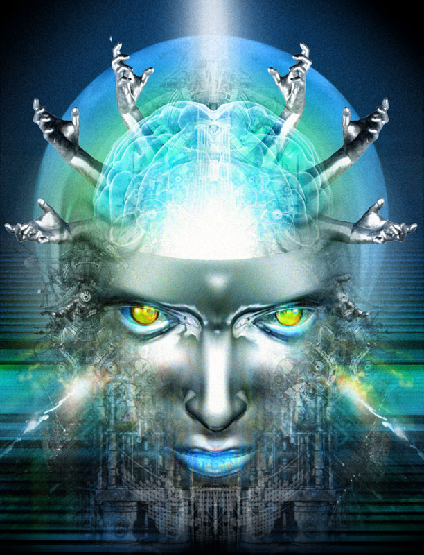Mind-Machine-Interface-Transhumanism